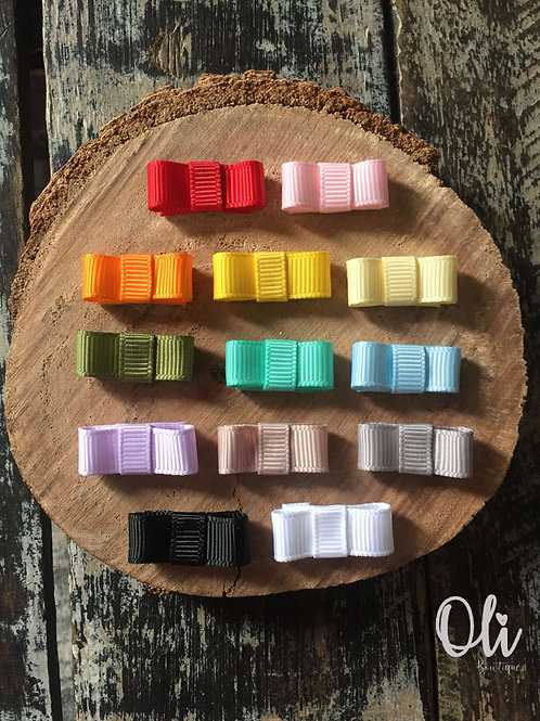 Tiny Chanel snap clip • Tic tac laço Chanel micro