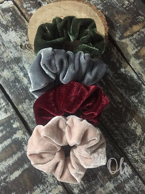 Velvet scrunchies • Scrunchies veludo