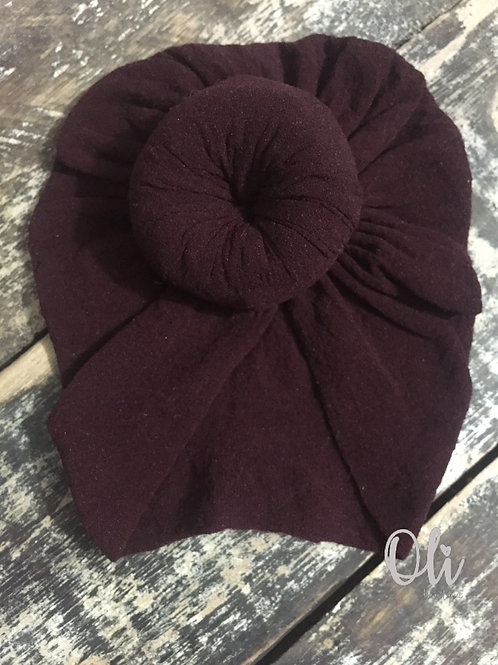 Baby doughnut turban • Turbante Zoe para RN