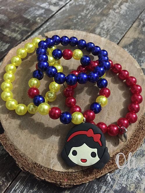 Princess bracelets set • Kit pulseiras princesas