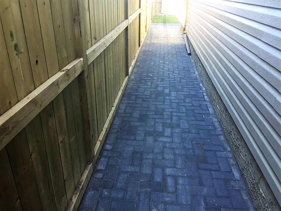 Custom Walkway