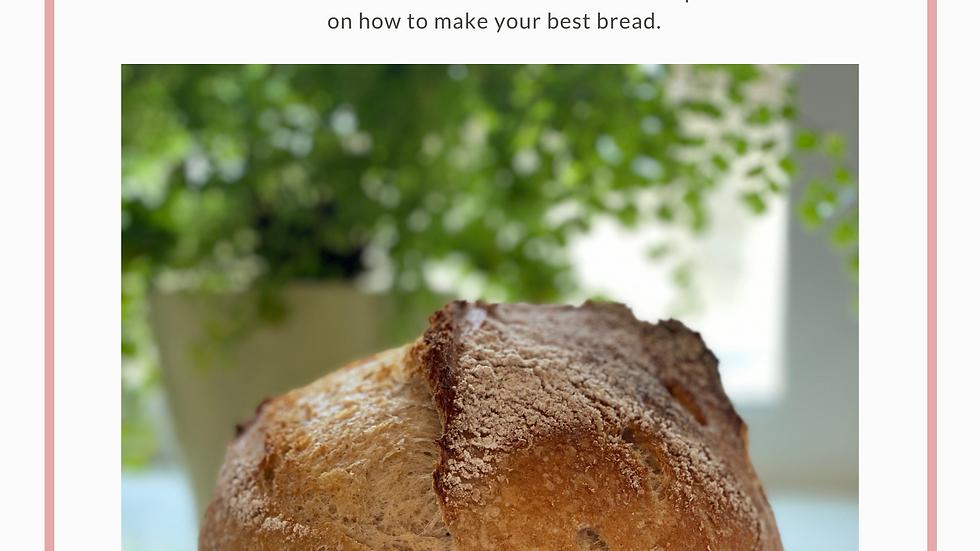 Sourdough Bread, Crackers + Starter e-book (PDF)