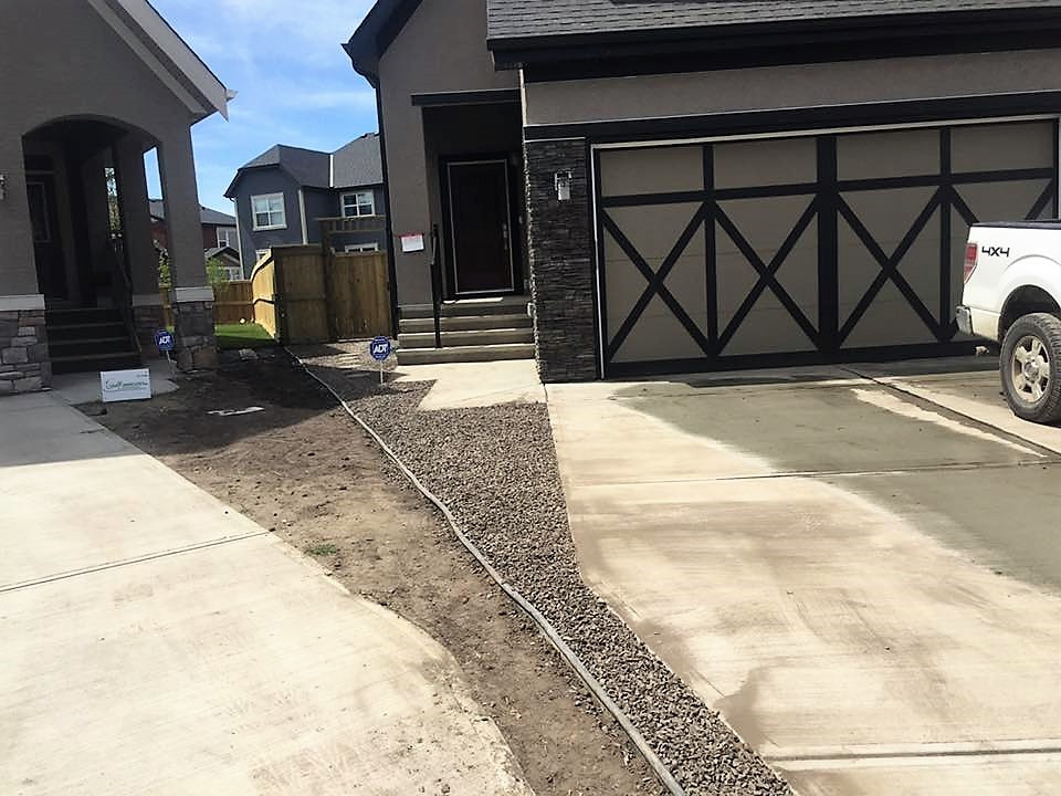 Front of home landscaping
