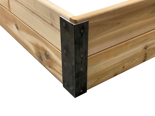 6' Steel Bracket Essential Garden Box Kit