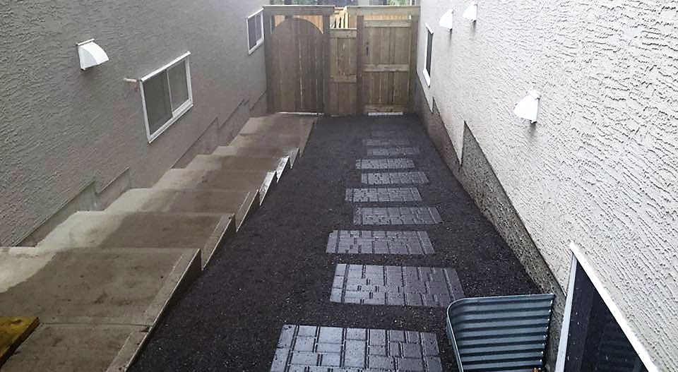 Side of Home Landscaping