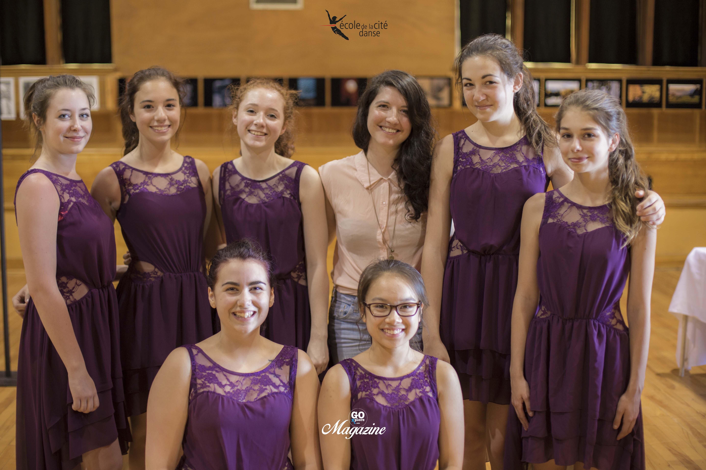 L'école Cité Danse et Chloé Lacasse
