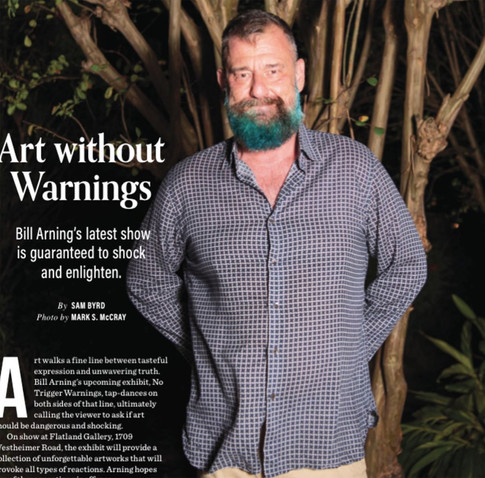 OutSmart Magazine: Art Without Warnings