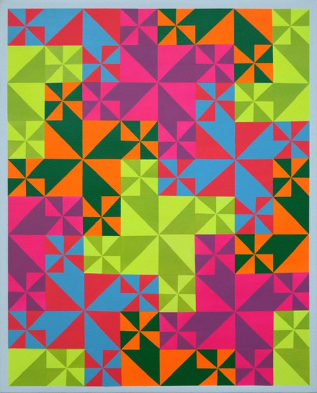 Christopher Cascio - Portals, Pinwheels and Process Paintings 2020-2021