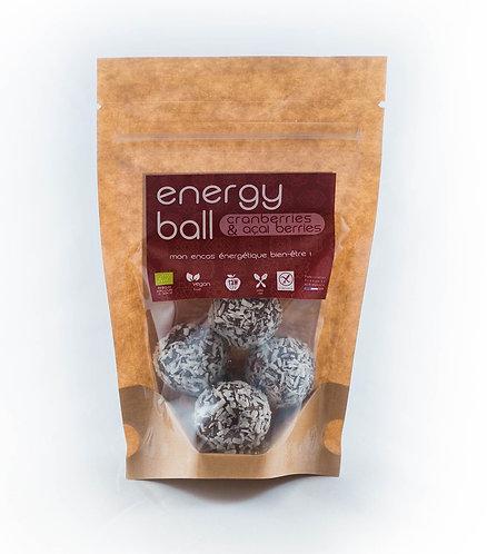 Energy Ball Cranberries & Açaï berries