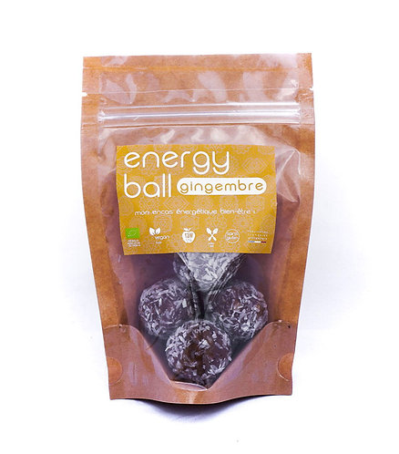 Energy Ball Gingembre