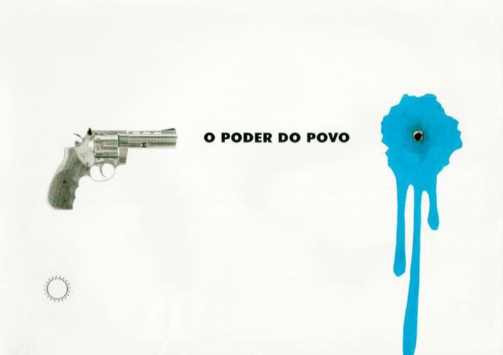 Facebook - Cartaz experimental: trabalho de 2011
