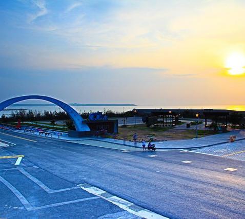澎湖跨海大橋-夕陽