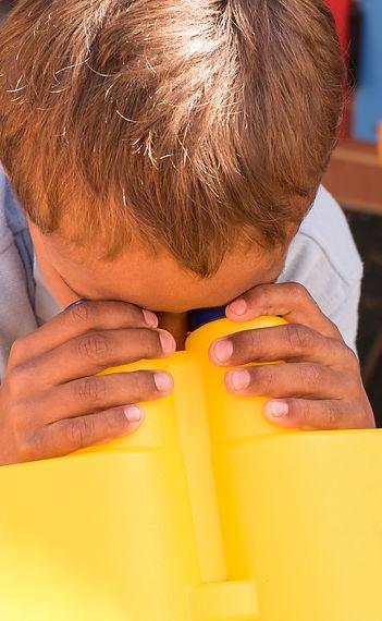 Orana House Child in Playground