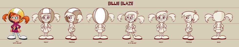Billie Blaze Turnaround