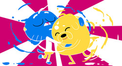 CNLA MoodBoards Gumball and Jake 2