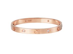 Rose Gold Cartier Love Bracelet
