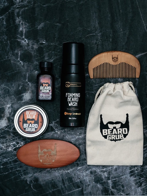 Beardgrub, Beardgrub Chicago, Beard Wash, Beard Balm, Beard Oil, Beard comb, Men's grooming travelers set, Beardgrub gift set