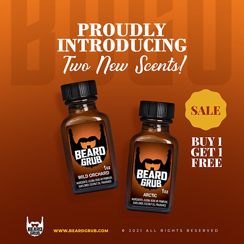 Premium Beard Oil 1oz.