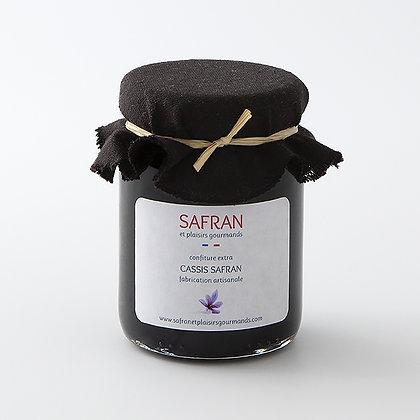 Confiture cassis safran 120 g