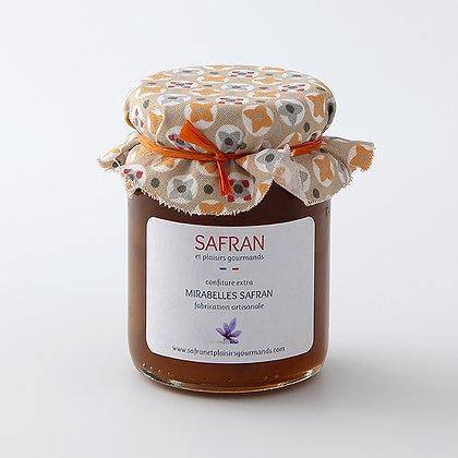 Confiture mirabelles safran 120 g