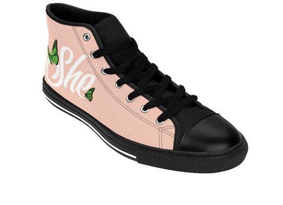 I AM SHE  Hi-Top sneakers(Men)