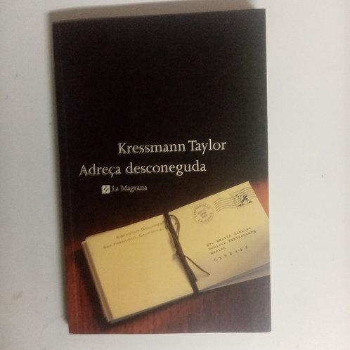 Adresa desconegeda (Kressmann Taylor)