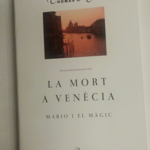 La mort a Venécia (Thomas Mann)