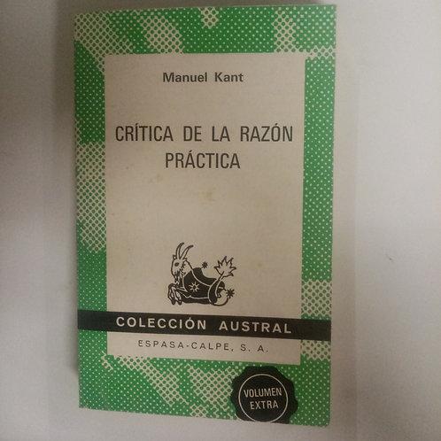 Crítica de la razón práctica (Manuel Kant)