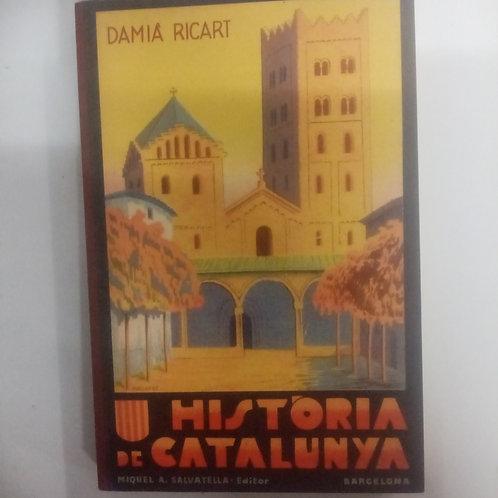 Historia de Catalunya (Damia Ricart)