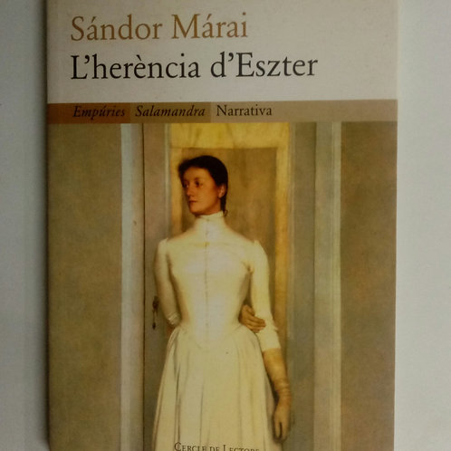 L'herencia d'Eszter (Sándor Márai)
