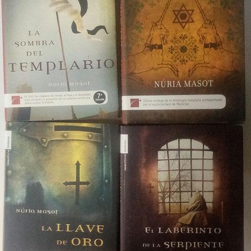 Tetralogía templaria (Núria Masot)