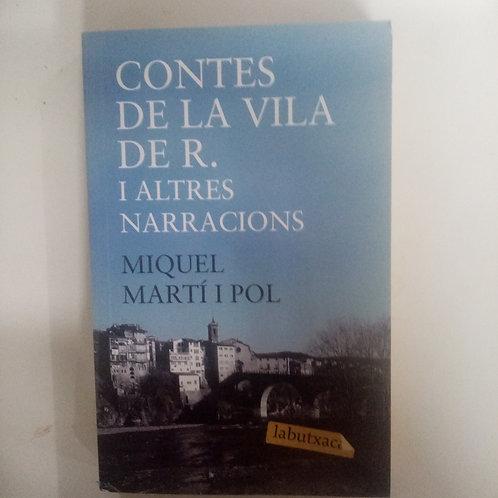 Contes de la vila de R. I altres narracions (Miquel Martí I Pol)
