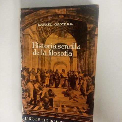 Historia sencilla de la filosofía (Rafael Gambra)