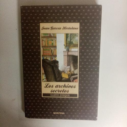Los archivos secretos (Juan García Hortelano)