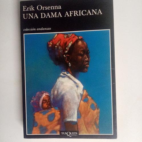 Una dama africana (Erik Orsenna)
