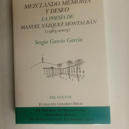 La poesía de Manuel Vázquez Montalbán (Sergio García García)