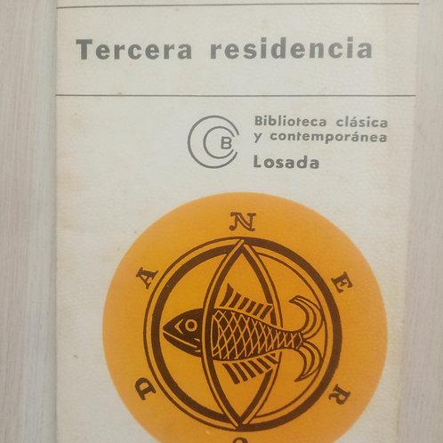 Tercera residencia (Pablo Neruda)