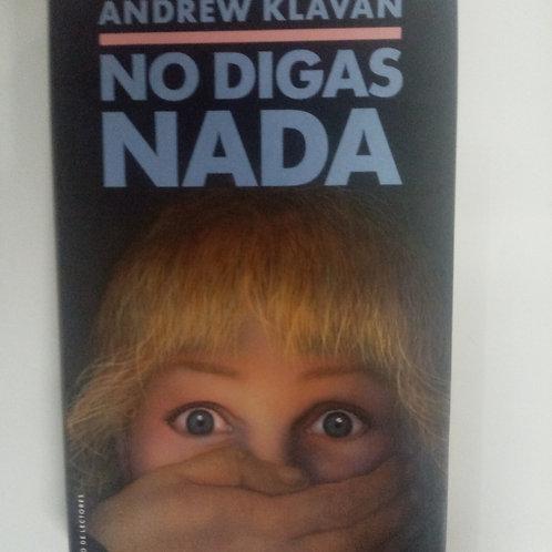 No digas nada (Andrew Klavan)