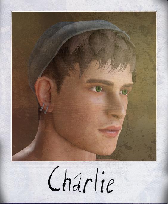 Charlie polaroid