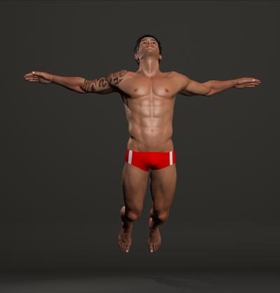 Nicolas Clothing Pose Test 1