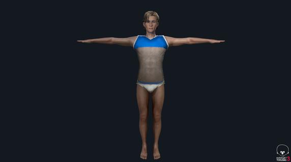 Sebastian Alternate outfit Render