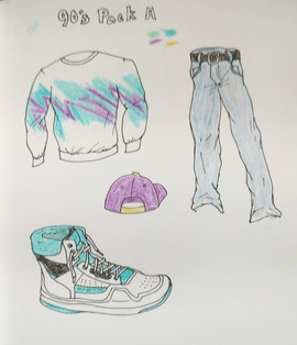 90's outfit A