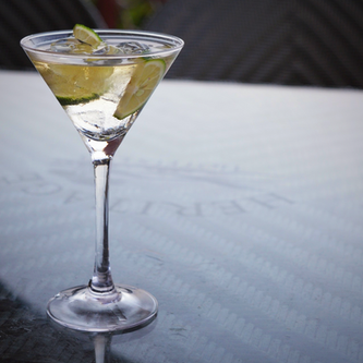Shaken not stirred: This virgin martini is sure to hit the spot