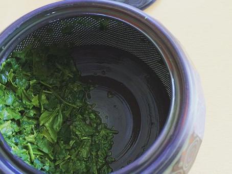 緑茶とカフェインについて。