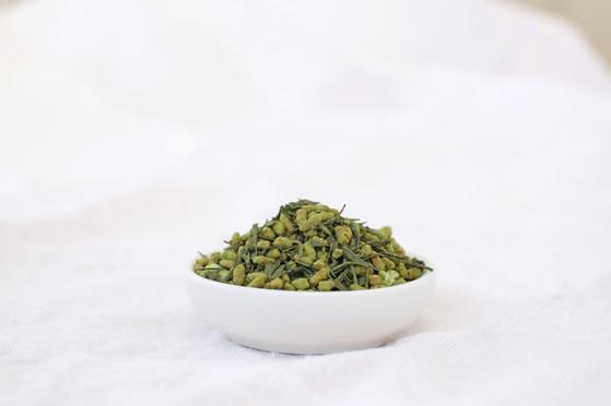 煎茶玄米茶葉.jpg