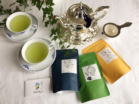 オーガニック日本茶専門店をはじめます