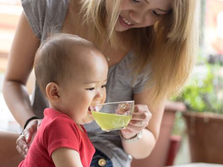 老舗日本茶屋の嫁が「赤ちゃんのための日本茶」を広げる活動を開始
