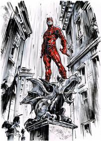 Devil on Gargoyle