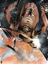 Galactus & Silver Surfer