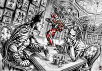 Batman, Joker & Harley Quinn